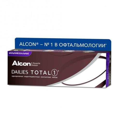 Dailies Total 1 multifocal 30 линз купить недорого в интернет-магазине opticamag.ru