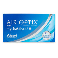 Air Optix Plus HydraGlyde (3 линзы)
